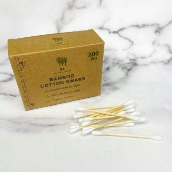 Plastic free swabs bamboo cotton swabs!