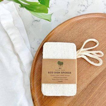 zero waste Eco Dish Sponges: Double Layer 3-Pack